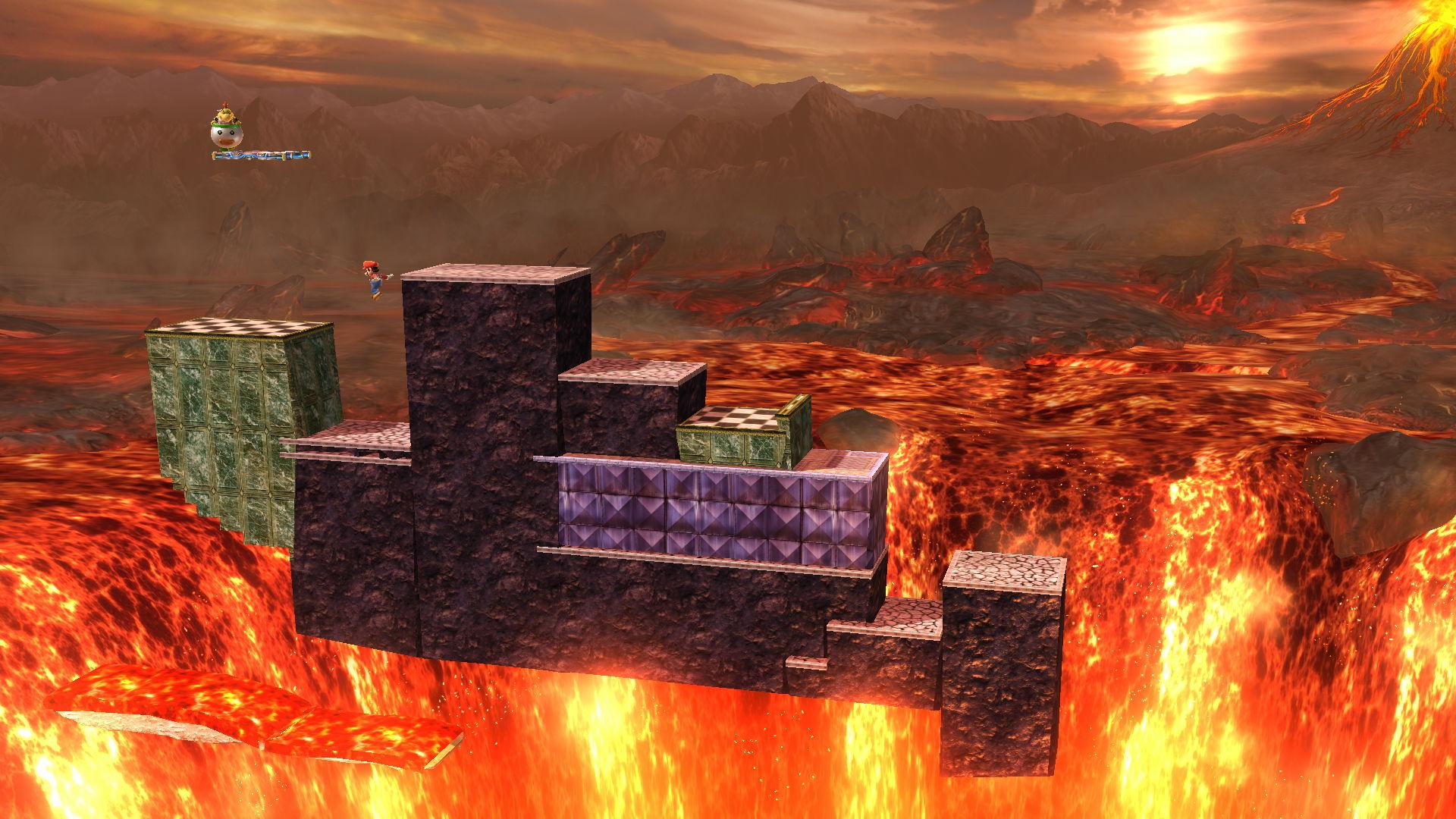 Just For Fun Super Mario World Bowser S Castle In Smash