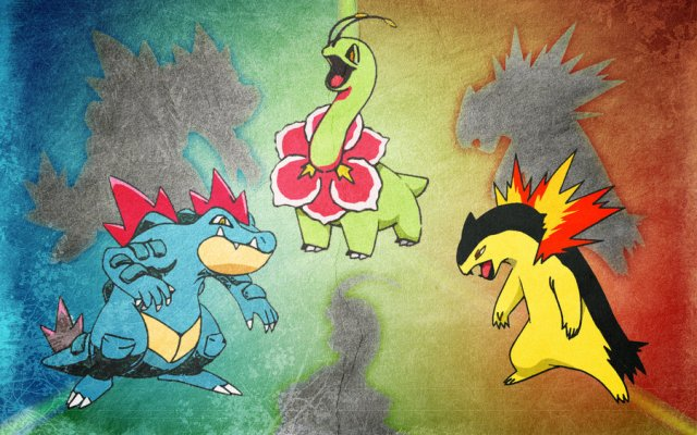 Who S That Pokemon Unova And Johto Starters Mostly Gaming