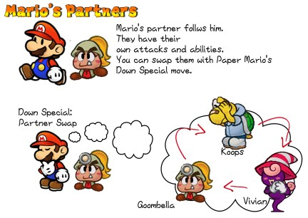 my pick for smash bros paper mario mostly gaming